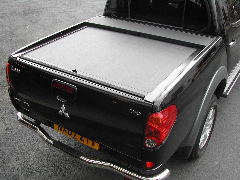 mitsubishi  roll  lock tonneau cover double cab