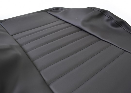 Land Rover Defender Single Retrim Kit - Black Vinyl