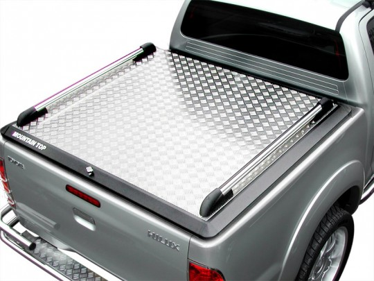 Toyota Hilux Double Cab Mountain Top No Ladder Rack 12-ON