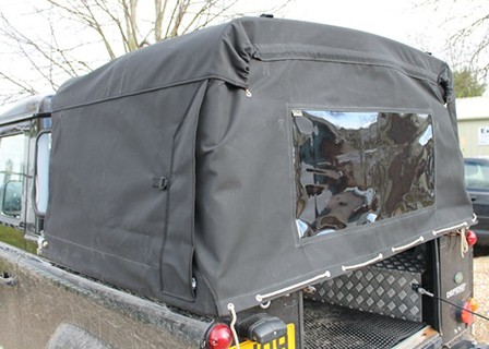 "Land Rover Defender 90"" ¾ Body Fit Canvas Hood"