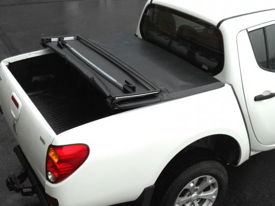 Mitsubishi L200 Double Cab Soft Tri Fold 05-09