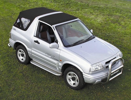 Suzuki Grand Vitara Soft Top hood