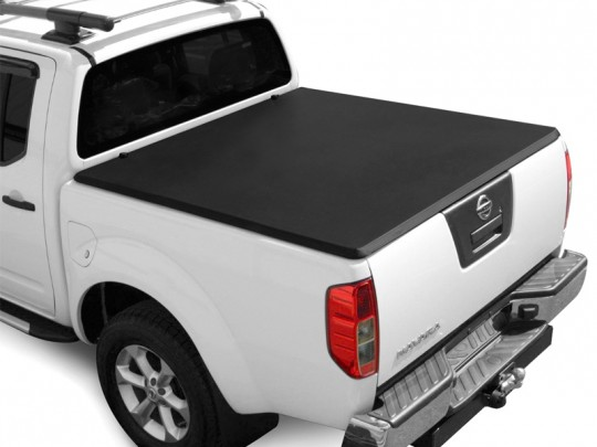 Nissan D40 Soft Folding Tonneau Cover Down
