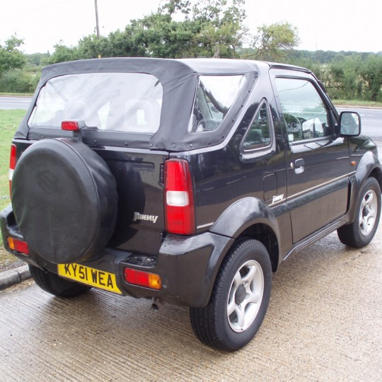 Suzuki Jimny Soft Top Hood in Black