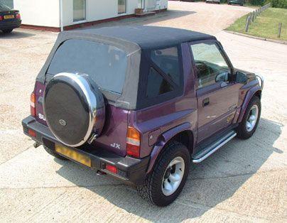 Suzuki Vitara Mk1 Vinyl Soft Top Black