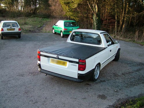 Volkswagen Caddy Single Cab Tonneau Cover 98-on