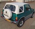 Suzuki Vitara 98-02 Zip OUt Side window hood in White
